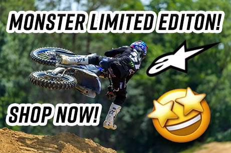 The new Monster Energy collection from Alpinestars now available!