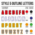 Cross Shirt Bedrukken Style 5 - Outline