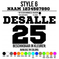 Cross Shirt Bedrukken Style 6