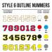 Cross Shirt Bedrukken Style 6 - Outline