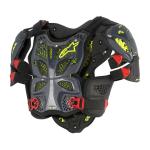 Alpinestars Full Bodyprotector A-10 - Antraciet / Zwart / Rood