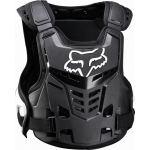 Fox Kinder Bodyprotector Raptor Proframe LC - Zwart / Wit