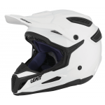Leatt Crosshelm GPX 5.5 Solid - Wit