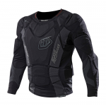Troy Lee Designs Kinder Beschermings Shirt LS 7855 - Zwart