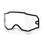 100% Armega Lens Dual - Clear