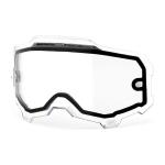100% Armega Lens Dual Vented - Clear