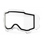 100% Lens Dual Roll-Off Forecast Armega - Clear