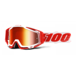 100% Crossbril Racecraft Bilal - Mirror Red Lens