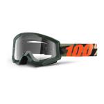 100% Crossbril Strata Huntsitan - Clear Lens