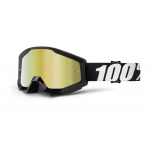 100% Crossbril Strata Outlaw - Mirror Gold Lens