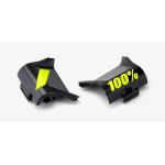 100% Vervangbare Roll-Off Kapjes Forecast - Zwart / Geel