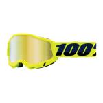 100% Crossbril Accuri 2 - Fluo Geel - Spiegel Lens