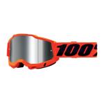 100% Crossbril Accuri 2 - Neon Oranje - Spiegel Lens