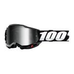 100% Crossbril Accuri 2 - Zwart - Spiegel Lens
