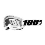 100% Crossbril Strata 2 - Everest - Clear Lens