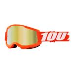 100% Crossbril Strata 2 - Orange - Spiegel Lens