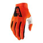 100% Crosshandschoenen Ridefit - Fluo Oranje