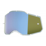 100% Lens Injected RC2/AC2/ST2 - Spiegel Blauw