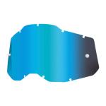 100% Lens RC2/AC2/ST2 - Spiegel Blauw