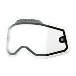 100% Lens Vented Dual RC2/AC2/ST2 - Clear