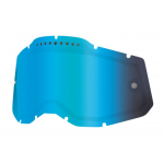 100% Lens Vented Dual RC2/AC2/ST2 - Spiegel Blauw