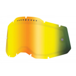 100% Lens Vented Dual RC2/AC2/ST2 - Spiegel Goud