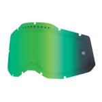100% Lens Vented Dual RC2/AC2/ST2 - Spiegel Groen