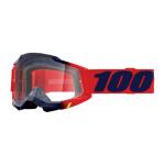 100% Crossbril Accuri 2 Kearny - Clear Lens