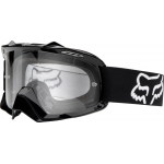 Fox Crossbril 2017 Air Space - Enduro Polished Black -Jeugd - Clear