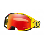 Oakley Crossbril Airbrake High Voltage Geel Rood - Prizm Torch Lens