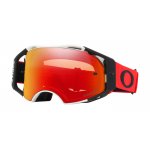 Oakley Crossbril Airbrake Rood Wit - Prizm MX Torch Lens
