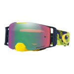 Oakley Crossbril Front Line MX Thermo Camo Groen Geel - Prizm Jade Lens