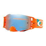 Oakley Crossbril Front Line MX TLD Metric Rood / Oranje - Prizm Sapphire Lens