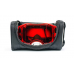 Oakley Crossbril Airbrake Heritage Stripe Red - Prizm Torch Lens