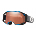 Oakley Crossbril Airbrake MTB Minnaar Distress Blue - Prizm Black Lens