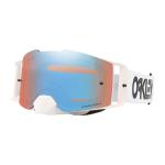 Oakley Crossbril Front Line MX Factory Pilot White - Prizm Sapphire Lens