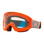 Oakley Crossbril XS O-frame 2.0 Tuff Blocks Orange Blue - Clear Lens