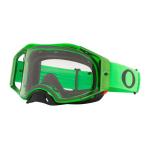 Oakley Crossbril Airbrake Moto Green - Clear Lens