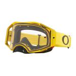 Oakley Crossbril Airbrake Moto Yellow - Clear Lens