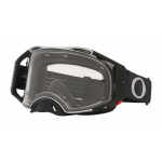 Oakley Crossbril Airbrake Tuffblocks Black Gunmetal - Clear Lens