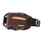 Oakley Crossbril Airbrake Tuffblocks Black Gunmetal - Prizm Bronze Lens