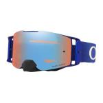 Oakley Crossbril Front Line MX Moto Blue - Prizm Sapphire lens