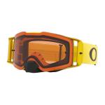 Oakley Crossbril Front Line MX Moto Yellow - Prizm Bronze Lens