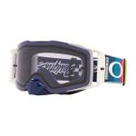 Oakley Crossbril Front Line MX TLD Graph White - Prizm Low Light Lens