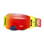 Oakley Crossbril Front Line MX TLD Graph Yellow - Prizm Torch Lens