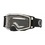Oakley Crossbril Front Line MX Tuff Blocks Black Gunmetal - Clear Lens