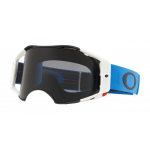 Oakley Crossbril Airbrake Blue Gunmetal - Dark Grey Lens