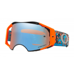 Oakley Crossbril Airbrake Camo Night Orange Blue - Prizm Sapphire Lens