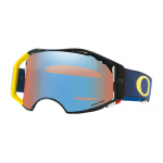 Oakley Crossbril Airbrake Equalizer Blue Yellow - Prizm Sapphire Lens