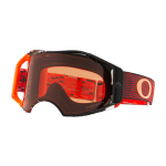 Oakley Crossbril Airbrake Equalizer Red Orange - Prizm Bronze Lens
